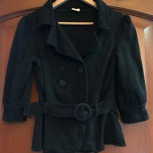 Women's cropped blazer